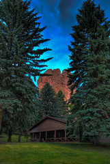 Cabin (iceman9294) Tags: colorado coloradosprings chriscoleman gleneyrie flickrsbest diamondclassphotographer 3xphdr iceman9294 christopherturnerphotography