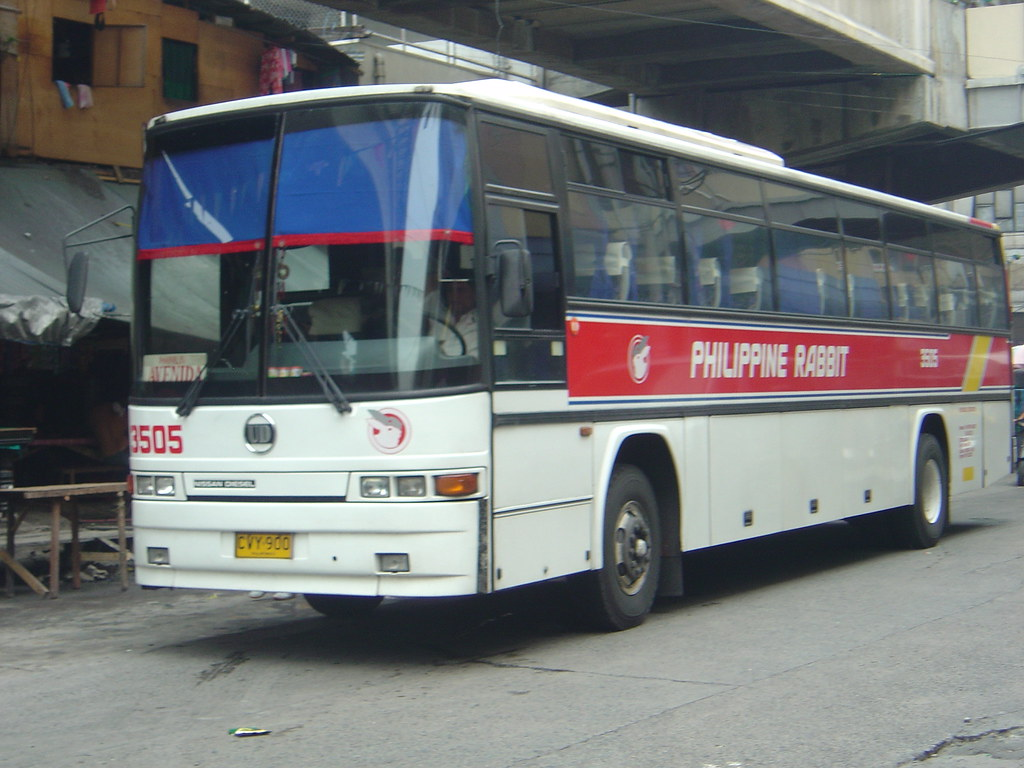Philippine Rabbit Euro Bus 3505