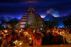Mexico Epcot (Ironworker63) Tags: world flowers vacation canada angel wow landscape mexico mouse restaurant orlando epcot inn colorful pyramid florida magic kingdom indoor lagoon disney mickey 63 international photograph mayan wdw walt magical showcase attractions mesoamerican ironworker themeparks sanangelinn mywinners anawesomeshot amazingsan