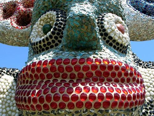 Cat Head Totem, 2000