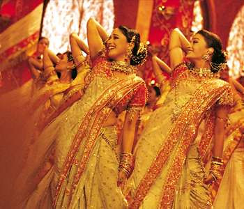 Madhuri Dixit and Aishwarya Rai in Devdas