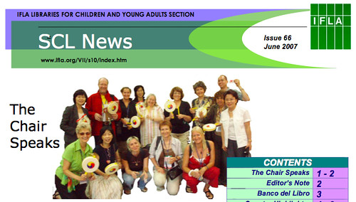 SCL News - Libraries for Children & Young Adults