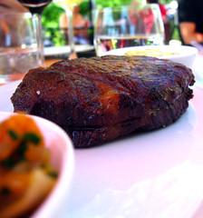 Steak, up close (foodpr0n.com) Tags: food ontario lunch slowfood portdalhousie treadwell