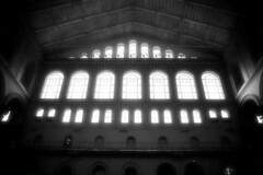 Building Museum, Washington, DC (happyfeet1) Tags: washingtondc monuments canoneosdigitalrebelxt black38white