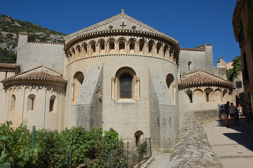 The church at St-Guilhem-le-Désert. Photo: Roger Sanderson