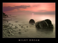 Milky Dream (Doblonaut) Tags: longexposure sunset sea summer seascape beach strand germany geotagged deutschland bravo meer sonnenuntergang sommer balticsea ostsee steilkste 2007 findling mecklenburgvorpommern cokin 8sec naturesfinest p121 p164 magicdonkey outstandingshots flickrsbest glacialerratic abigfave superbmasterpiece goldenphotographer bratanesque p154 warnkenhagen flickrslegend geo:lat=54008626 geo:lon=11056538