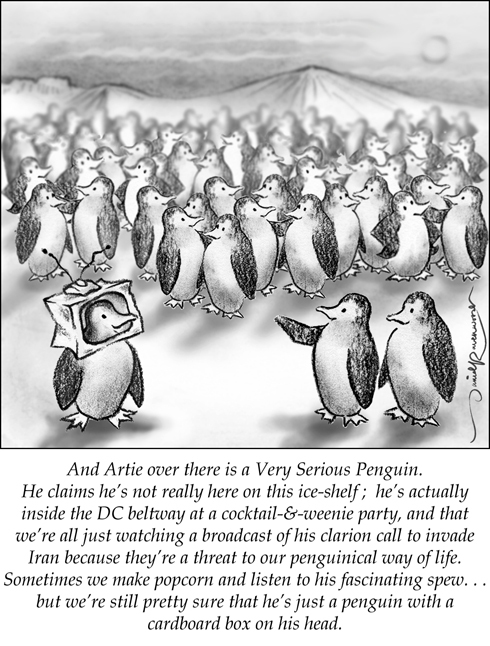 penguin tv pundit 490 pixels by david ravenwood