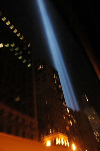 Tribute in Light, September 11, 2007