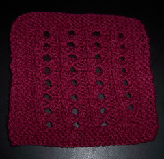 Elegant Lace Square
