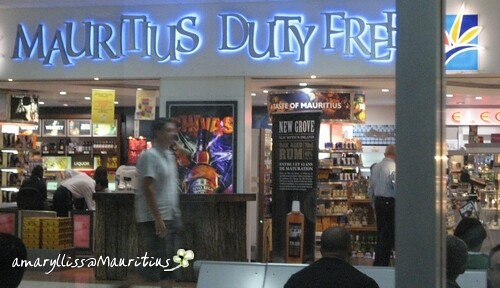 First sight at Mauritius International airport