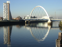 The Clyde, Glasgow, Squinty Bridge