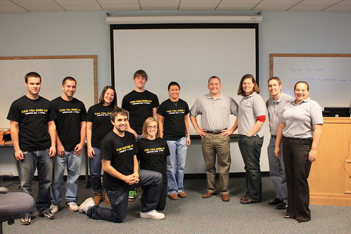 Marketing Workshop class partnered with Dyn Inc.