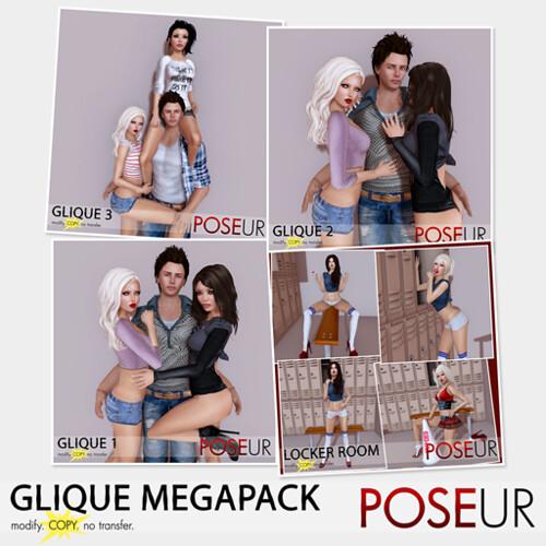 POSEUR - Glique MegaPack
