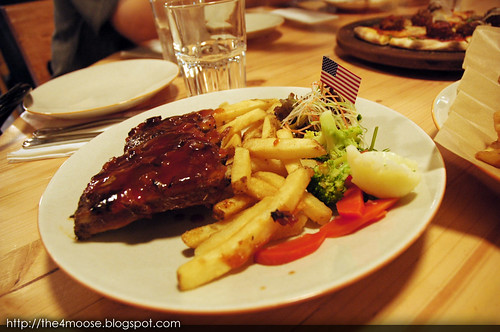 District 10 Bistro Wine Bar - Roasted Baby Back Ribs with Smoky Barbeque Sauce