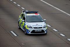 Surrey Police Ford Focus ST ANPR Car (stavioni) Tags: ford m25 focusst fordfocusst anpr surreypolice mj09jzu