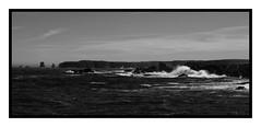 Bonavista (Sean Rumsey) Tags: ocean new longexposure bw canada nature monochrome photoshop canon newfoundland landscape eos blackwhite war atlantic 5d coastline bonavista lseries 2470mm 5dmkii 5dmk2 5dmark2