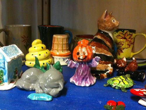 Earth, Glaze & Fire Ceramic Painting Studio