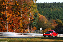 Porsche 911 997 GT2 RS (Martijn M.) Tags: canon germany eos is 911 porsche rs gt2 997 nordschleife f456 400d 55250 touristenfahrten 31102010