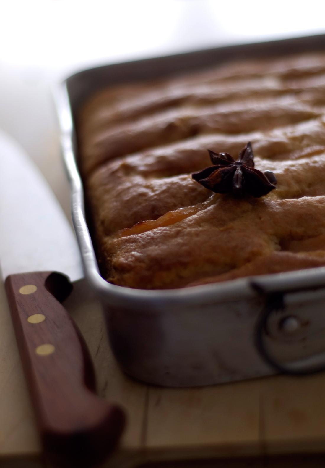 Bolo de natas com marmelo // Sour cream Cake with Quince