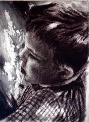 contemplation (Ruth Christie) Tags: art portraits painting pastel oil acrylics