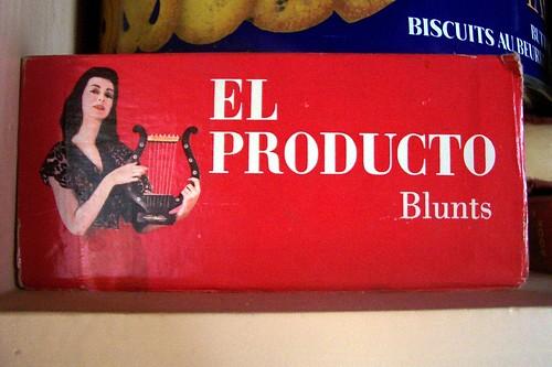 el producto blunts cigar box