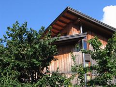 our_house_1 (hukla) Tags: house haus blau holz sdtirol showyourhouse holzhaus plaus niedrigenergie wwwklaushubereu