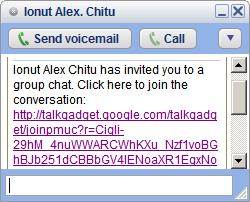 Einladung zum Chat