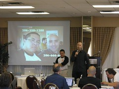 Photo of Mitch Joel and Chris Penn by Bob Goyetche