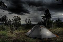Mogollon Rim - Campsite (Poppa-D) Tags: camping arizona storm southwest darren nikon d pad az stevenson monsoon d200 vivitar poppa mogollonrim poppad mogollon strobist azwmonsoon