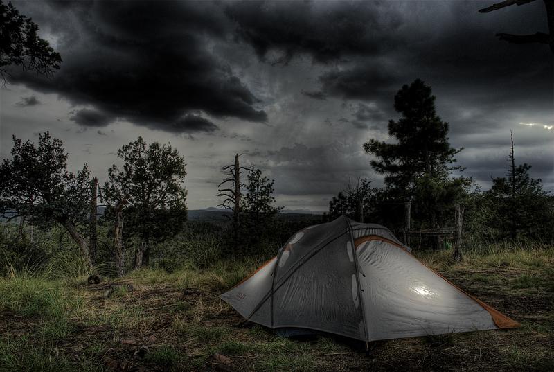 Mogollon Rim - Campsite