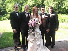 Kristin and the Men (Reicheru An) Tags: wedding kristin abrams