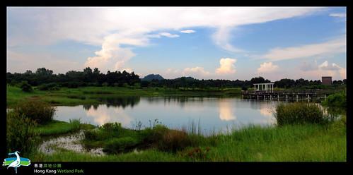 內中下游.湖泊景色