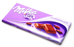Milka in Wrapper