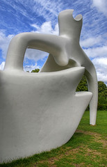Henry Moore sculpture at Kew 01 by Camera Freak
