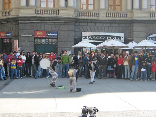 Street Performers at Plaza de Armas