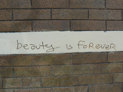 Beauty is forever, by Just Warr, Creative Commons: Attribution 2.0 Generic.