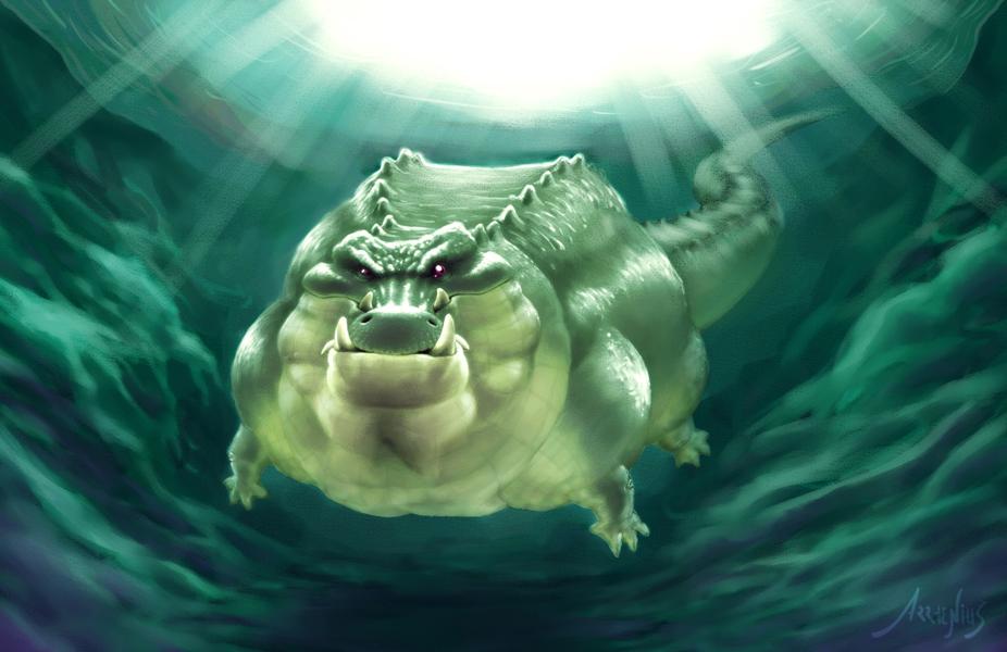 2DArtist Magazine - Crocodile - Voting