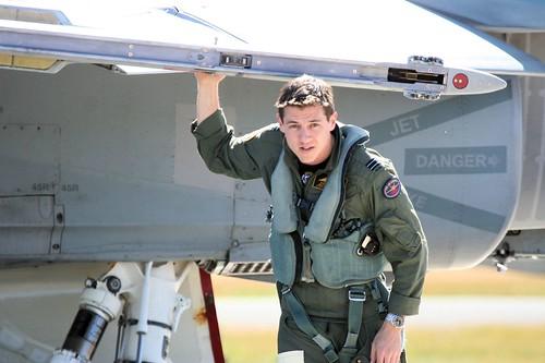 RAAF FA-18 Pilot