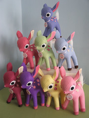 Delicious New Colors (Fantastic Toys) Tags: plush deer softie fawn kawaii fantastictoys