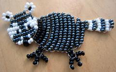 Mapache. (naiarais) Tags: animal handmade artesania manualidades mapache abalorios hechoamano hechopornaiara animalitodebolas