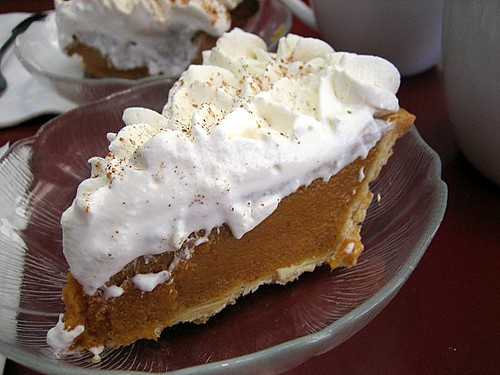 Pumpkin Pie at Bakers Square