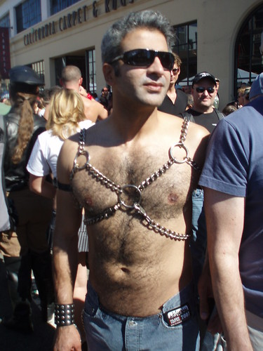 FOLSOM STREET FAIR 2007 beautiful hairy hunk (addadada) Tags: bear gay ...