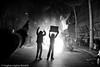 (Hughes Léglise-Bataille) Tags: paris france topf25 car silhouette fire israel riot topf50 palestine protest january voiture demonstration burning violence janvier 2009 feu manif manifestation gaza hamas brulée