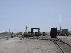 Arizona & California RR Parker AZ 3368 (DB's travels) Tags: railroad arizona coloradoriver parker arizonacaliforniarr arzc tempcrr