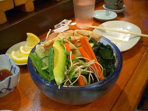 Komasa albacore salad