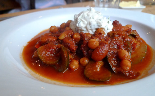 Vegetable Tagine with Creme Fraiche
