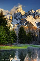Grand View (James Neeley) Tags: mountains sunrise landscape grandtetons tetons grandtetonnationalpark photomatix 5xp jamesneeley exposurefusion