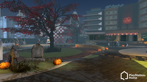 PlayStation Home: Spooky Invasion! Halloween square