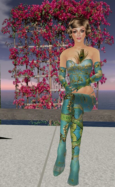 [LI] Oriental Peacock by Lemania Indigo Designs