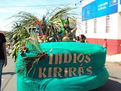 ndios kirirs (jmarconi) Tags: cidade brazil festival indian dia parade desfile brazilian aniversrio 1904 indigenous dfil ndio cvico pequi 19deabril diadondio crixs 57anos